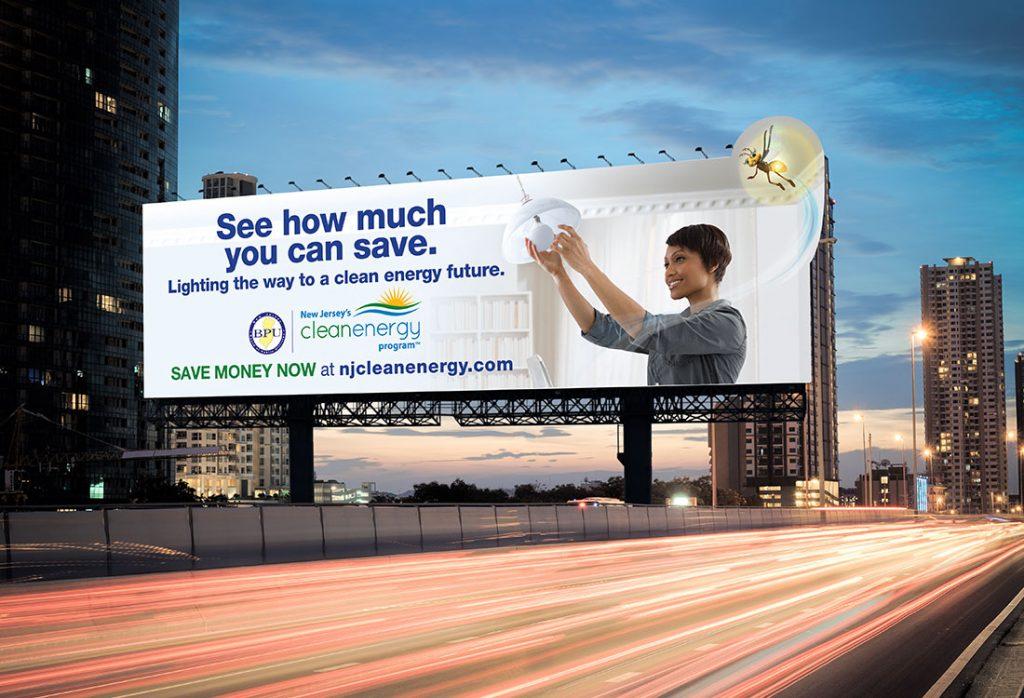 BPU – NJ Clean Energy Program – Billboard