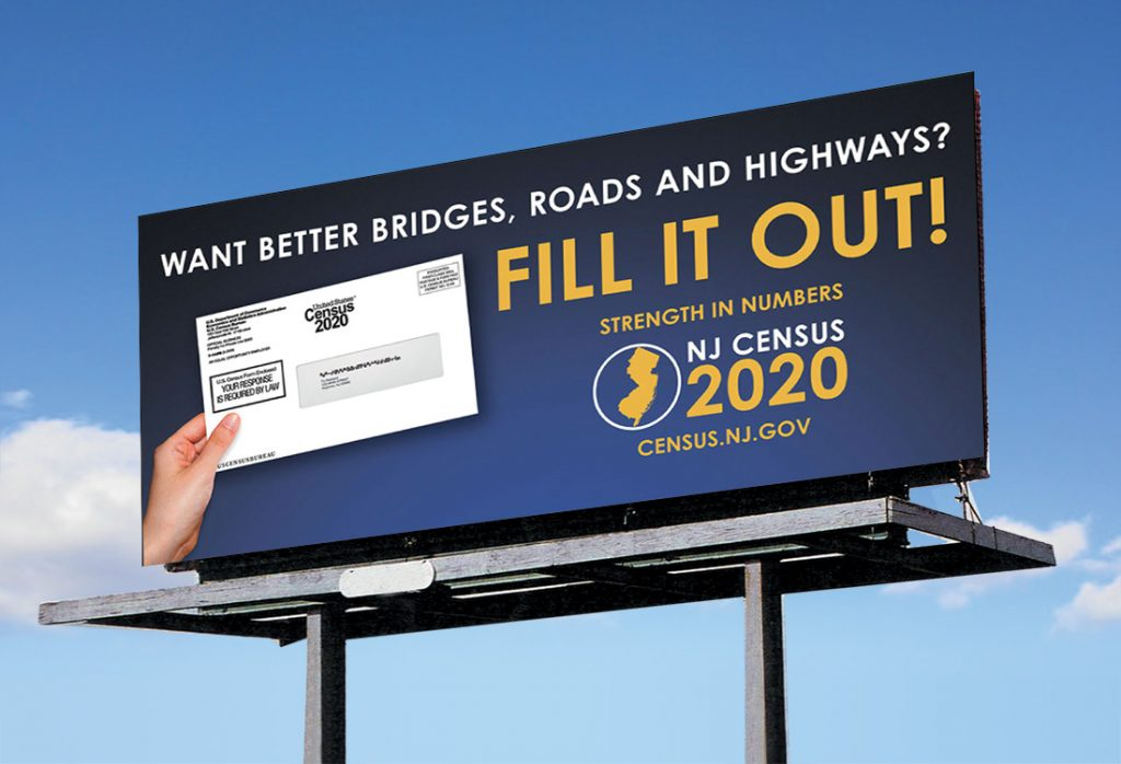 NJ Census 2020 – Billboard