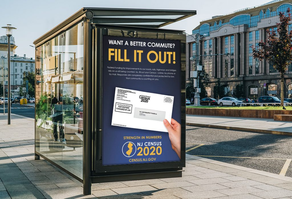 NJ Census 2020 – Bus Shelter
