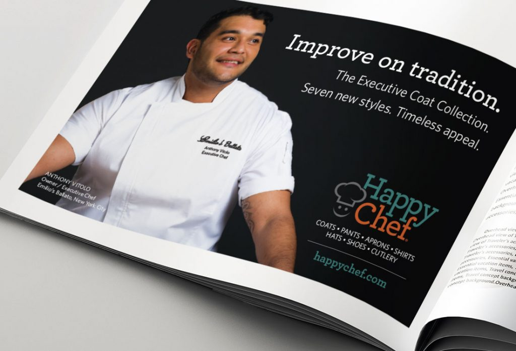 Happy Chef – Print Ad