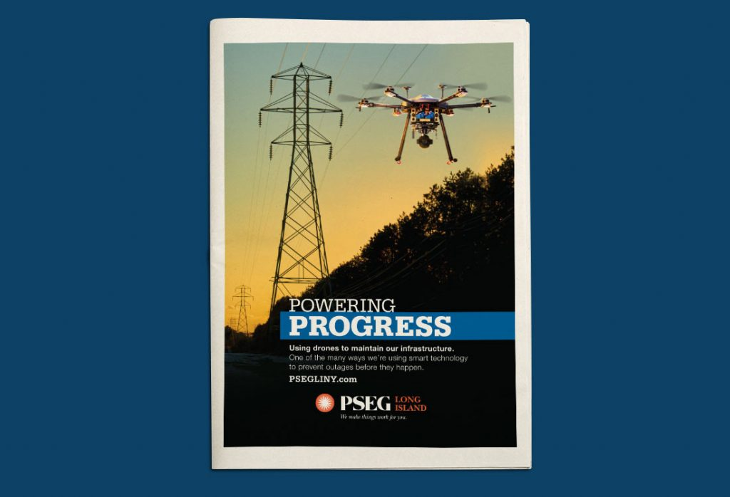 PSEG Long Island – Powering Progress – Print Ad